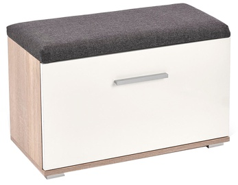 Шкаф для обуви Halmar Lima ST2 Sonoma Oak/White, 700x320x450 мм
