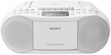 Магнитола Sony CFD-S70 White, 3 Вт, белый