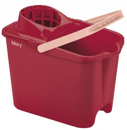 Mery Cleaning Bucket 14L Red