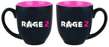 Krūzīte Gaya Entertainment Rage 2, melna/rozā, 2 gab., 330 ml