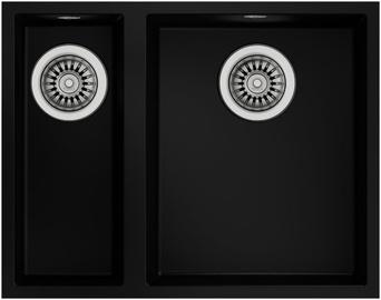 Teka Square 2B 540 TG Sink Black