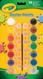 Crayola Poster Paints 14pcs
