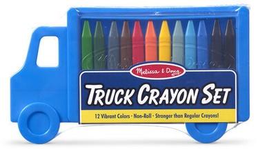Melissa & Doug Truck Crayon Set 12pcs
