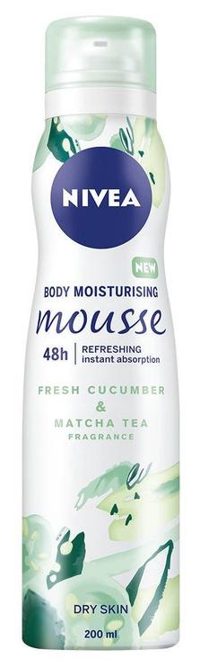 Nivea Cucumber & Matcha Tea Body Mousse 200ml