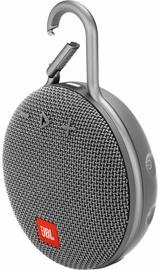 Bezvadu skaļrunis JBL Clip 3 Stone Grey, 3 W