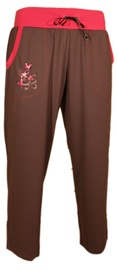 Bars Womens Trousers Brown/Pink 95 M