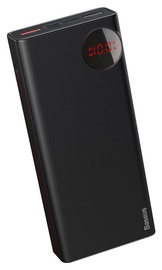 Ārējs akumulators Baseus Bright Moon Black, 20000 mAh