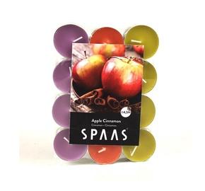 Ароматическая свеча Spaas Apple Cinnamon, 24 шт., 4.5 h