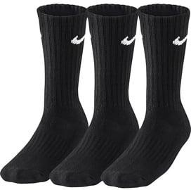 Nike Value Cotton Crew SX4508 001 Black 3 Pack 46-50
