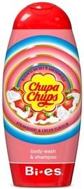 Dušas želeja BI-ES Chupa Chups Strawberry/Cream, 250 ml