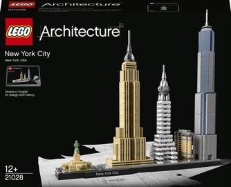 Конструктор LEGO Architecture New York City 21028, 598 шт.