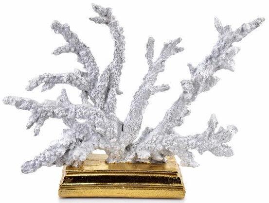 Mondex Samoa Coral Figure - Statue White 30x9x23.5cm