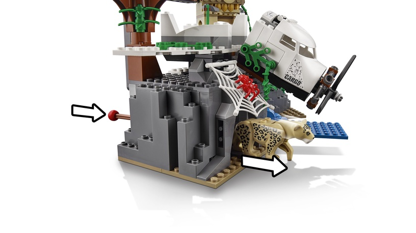 Конструктор LEGO City Jungle Exploration Site 60161