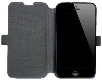 Telone Super Slim Shine Book Case Alcatel C7 One Touch 7041D Black