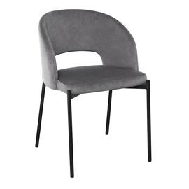 Ēdamistabas krēsls Halmar K455, pelēka