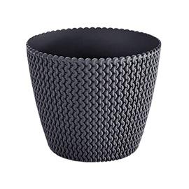Prosperplast Indoor Plant Pot 18.7x15.8cm Black