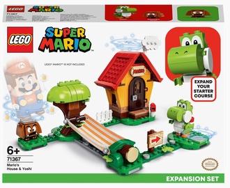 Konstruktors LEGO Super Mario Mario mājas un Joši paplašinājuma maršruts 71367, 205 gab.