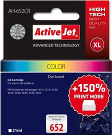 ActiveJet Cartridge AH-652CR For HP 21ml MultiColor