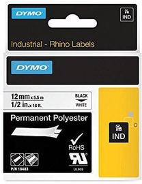 Этикет-лента для принтеров Dymo Rhino, 500 см