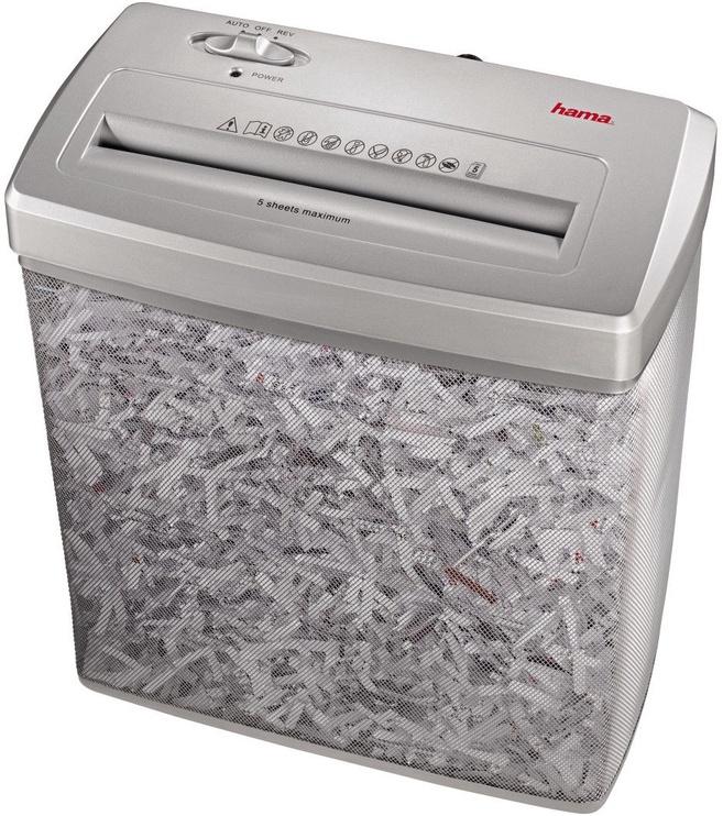 Papīra smalcinātājs Hama Premium X6M, 4 x 39 mm