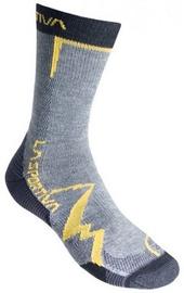 La Sportiva Socks Mountain Grey/Yellow L