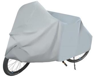 Futrālis Premium Bicycle Cover Silver 210x110cm