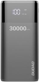 Ārējs akumulators Dudao K8Max Black, 30000 mAh