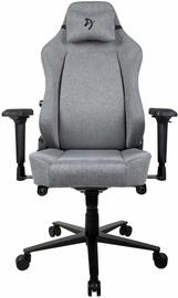 Spēļu krēsls Arozzi Primo Woven Fabric Grey/Black