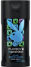 Dušas želeja Playboy Generation For Him, 250 ml