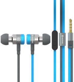 Наушники Swissten SuperBass YS900 in-ear, синий