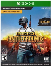 Playerunknowns's Battlegrounds Game Preview Edition Xbox One