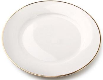 Šķīvs Mondex Mirrela Gold Dessert Plate White 19.3cm