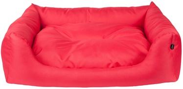 Dzīvnieku gulta Amiplay Basic, sarkana, 1140x900 mm