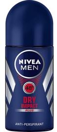 Vīriešu dezodorants Nivea Men Dry Impact Roll On Antiperspirant, 50 ml