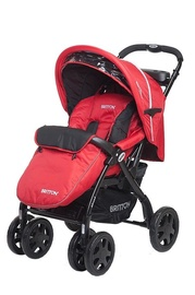 Britton Allroad Stroller Red/Black