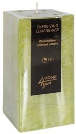 Home4you Candle Energizing Lemongrass 7.5x7.5xH15