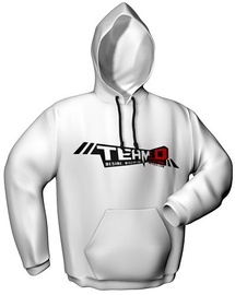 GamersWear Team3D Hoodie White XL