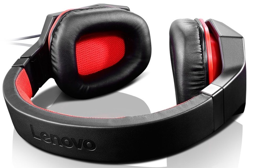 Игровые наушники Lenovo ROW Black/Red