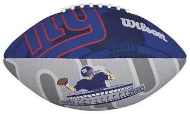 Wilson NFL Team Logo Junior Size Football New York Giants