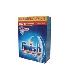 Trauku mazgājamās mašīnas kapsulas Finish All In 1, 100 gab.