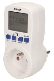 ORNO Weekly Digital Timer With LCD Display