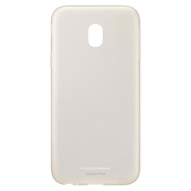 Samsung Jelly Back Cover For Galaxy J3 J330 Gold