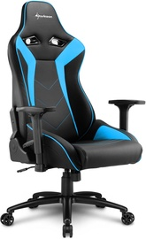 Spēļu krēsls Sharkoon Elbrus 3 Black/Blue