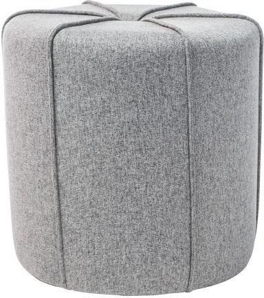 Pufs Signal Meble Zeta Grey, 40x40x40 cm