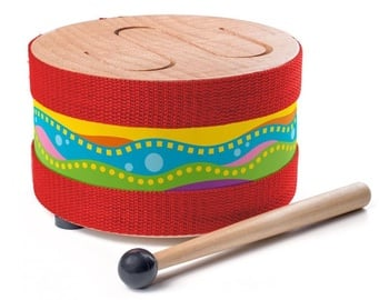 Woody Drum With Stick 91895