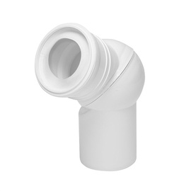 Tycner 671 Adjustable Elbow White
