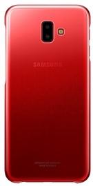 Samsung Gradation Cover For Samsung Galaxy J6 Plus J610 Red