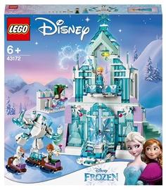 Конструктор LEGO Disney Princess Волшебный ледяной замок Эльзы 43172, 701 шт.