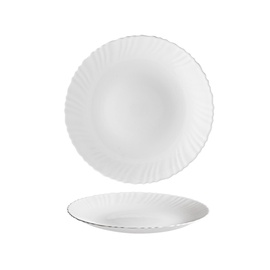Šķīvis Titan TITAN 160-0023, balta