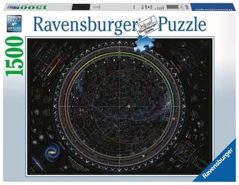 Ravensburger Puzzle Map Of The Universe 1500pcs 162130